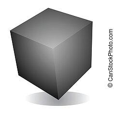 cubo, spazio