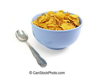 cucchiaio, ciotola, cereale
