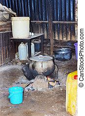 cucina, tipico, africano