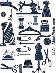 cucito, accessori