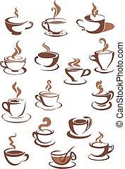 cuocere vapore caffè, campanelle