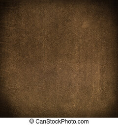 cuoio, marrone, closeup, struttura