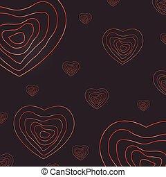 cuore, astratto, giorno, fondo, valentina