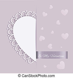 cuore, augurio, st, forma, valentina, giorno, scheda