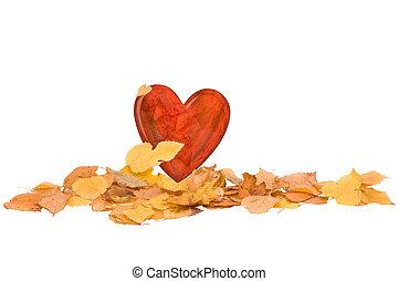 cuore, autunno