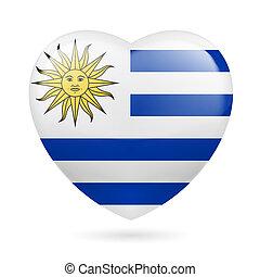 cuore, icona, uruguay