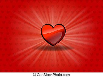 cuore, lucente