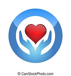 cuore, proteggere