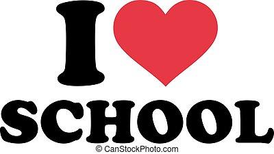 cuore, scuola, amore