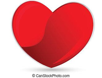cuore, simbolo, logotipo