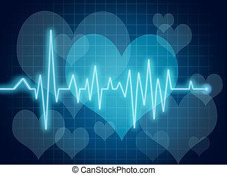 cuore, simbolo, salute