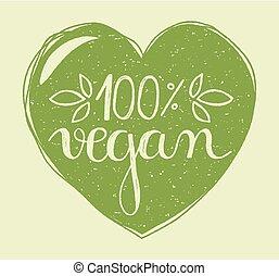 cuore, vegan