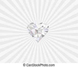 cuore, viola
