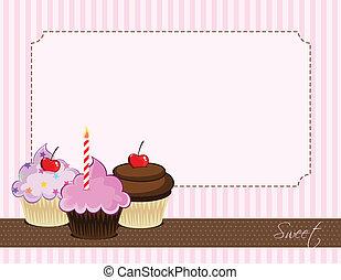 cupcake, delizioso