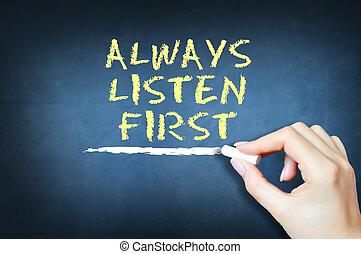 cura, ascoltare, suggerire, always, primo, concetto, cliente