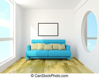 cuscini, divano
