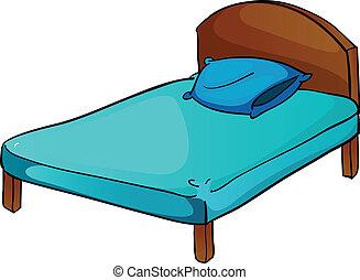 cuscino, letto
