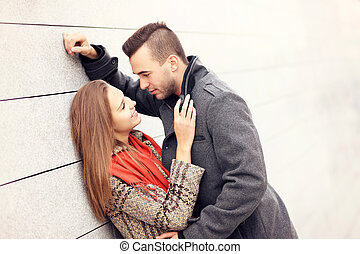 data, coppia, ona, romantico