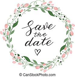 data, matrimonio, risparmiare, invito