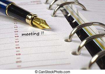 data, riunione