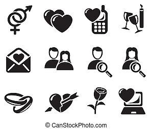 datazione, amore, icone
