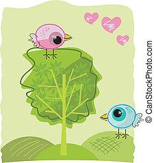 datazione, birdies