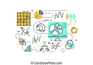 dati, analisi, illustrazione