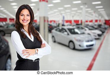 dealer., automobile
