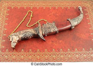 decorativo, coltello
