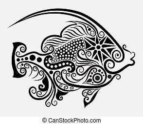 decorativo, fish, 2