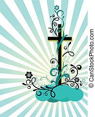 decorazione, croce