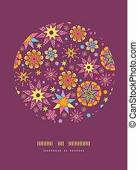 decorazione, stelle, colorito, modello, fondo, cerchio, sagoma
