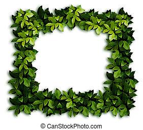 decorazione, verde