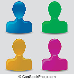 default, profilo, avatar