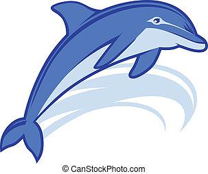 delfino, mascotte