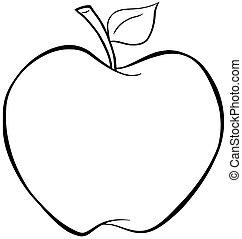 delineato, mela