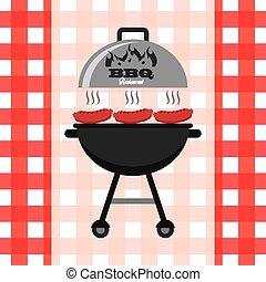 delizioso, barbecue