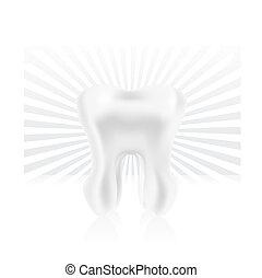 dente, photo-realistic