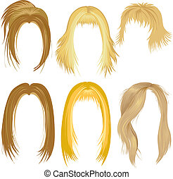 designazione capelli, biondo