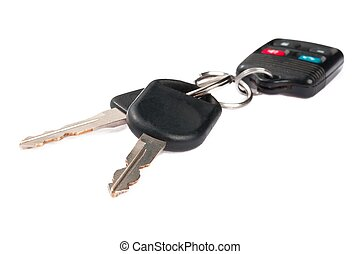 dettagliato, controllo, remoto, chiavi, automobile, immagine, plastica