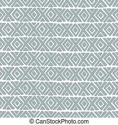 diamante, vettore, croce, pattern., seamless
