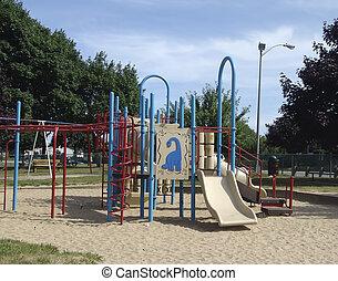 diapositiva, parco