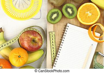 dieta, frutte