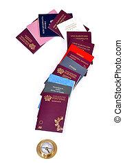 differente, documenti, viaggiare