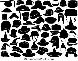 differente, generi, cappelli