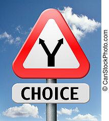 difficile, scelta