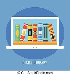 digitale, biblioteca