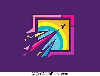 digiuno, colorito, riprese, schegge, frecce