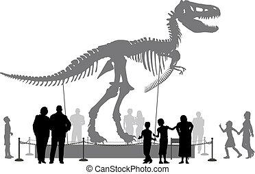 dinosauro, museo