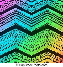 dipinto, pattern., seamless, illustrazione, mano, vettore, disegnato